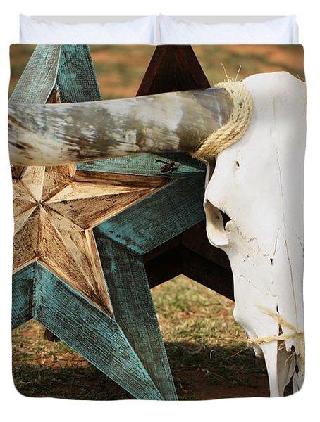 The Heart Of Texas Duvet Cover