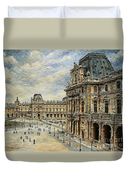 The Louvre Museum Duvet Cover