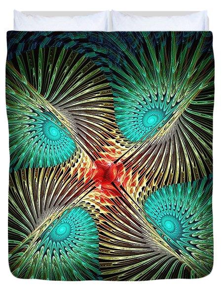 Visual Perception Duvet Cover by Anastasiya Malakhova