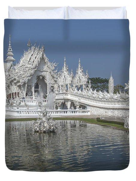 Wat Rong Khun Ubosot Dthcr0001 Duvet Cover