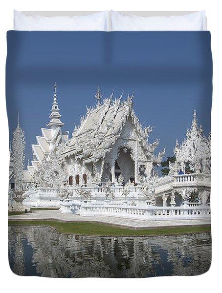Wat Rong Khun Ubosot Dthcr0002 Duvet Cover