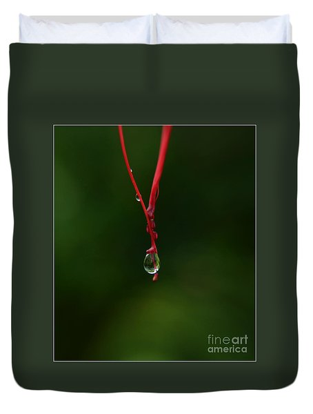 Waterdrop Duvet Cover by Michelle Meenawong