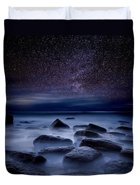 Where Dreams Begin Duvet Cover by Jorge Maia