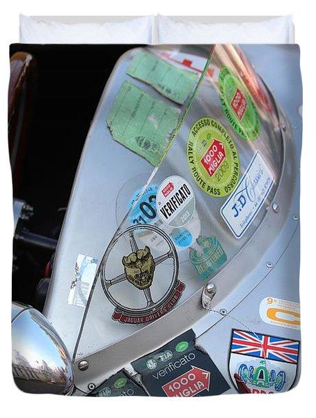 Windscreen Sticker Duvet Cover