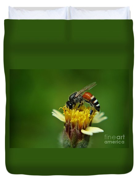 Working Bee Duvet Cover