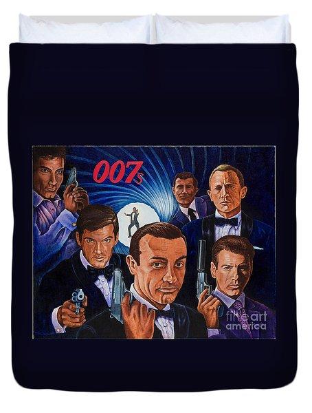 007 Duvet Cover
