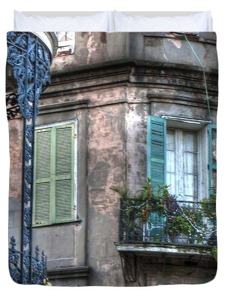 0254 French Quarter 10 - New Orleans Duvet Cover by Steve Sturgill
