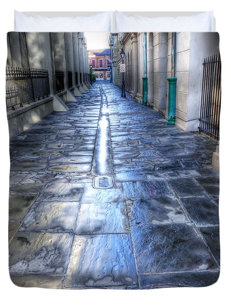0270 French Quarter 2 - New Orleans Duvet Cover by Steve Sturgill
