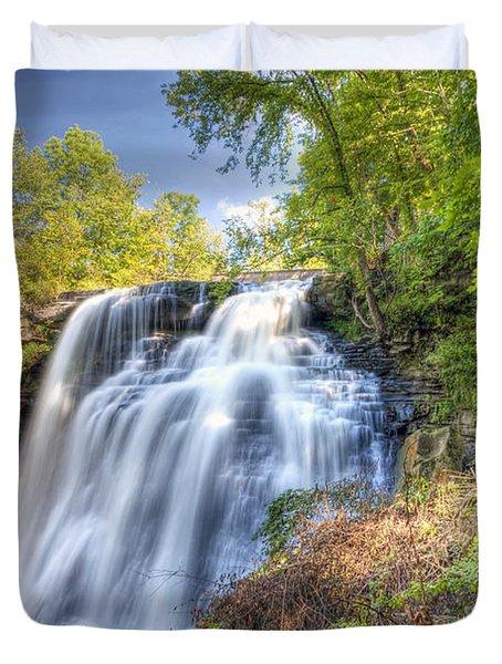 0302 Cuyahoga Valley National Park Brandywine Falls Duvet Cover