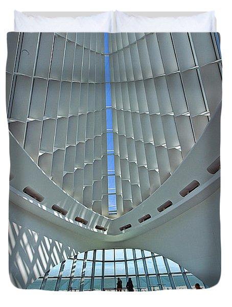 0354 Milwaukee Art Museum Duvet Cover
