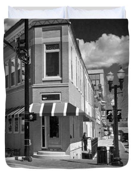 0465 Elgin Illinois Panoramic Duvet Cover