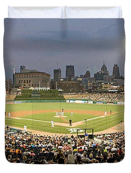0555 Comerica Park Detroit Duvet Cover