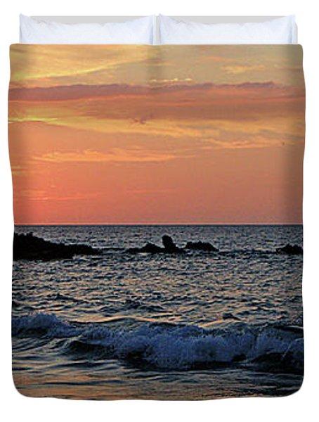 0581 Maui Sunset 2 Duvet Cover by Steve Sturgill