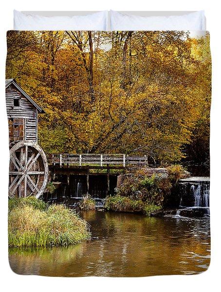 0722 Hyde's Mill Duvet Cover by Steve Sturgill