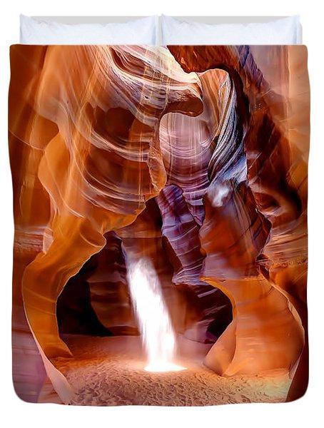 0728 Upper Antelope Canyon - Arizona Duvet Cover