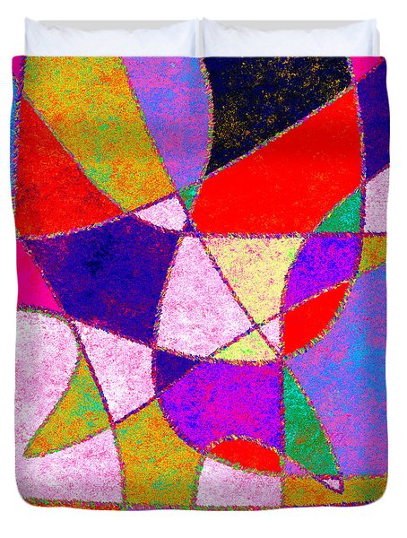 0269 Abstract Thought Duvet Cover