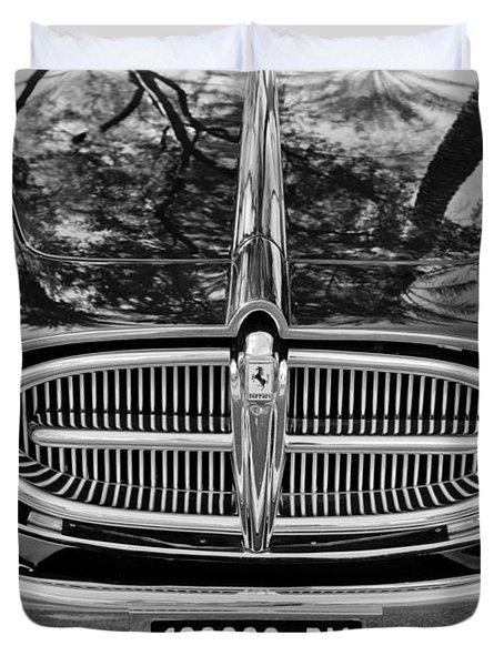 1952 Ferrari 212 Vignale Front End Duvet Cover by Jill Reger