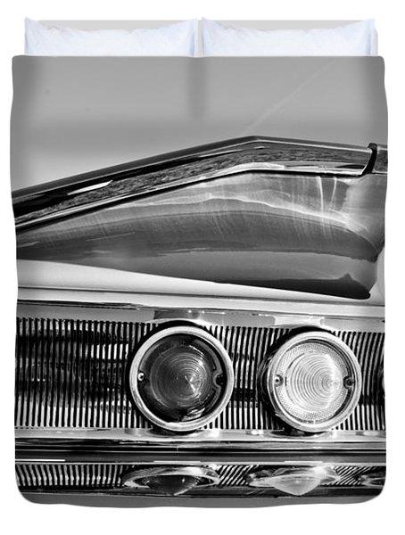 1960 Chevrolet Impala Resto Rod Taillight Duvet Cover by Jill Reger
