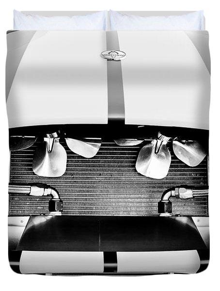 1965 Shelby Cobra Grille Duvet Cover