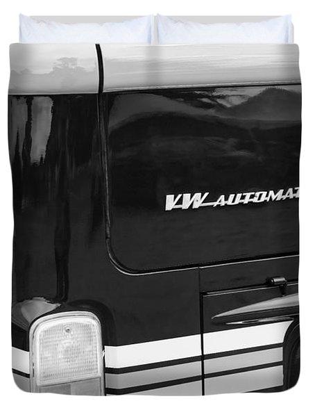 1978 Volkswagen Vw Champagne Edition Bus Taillight Emblem Duvet Cover by Jill Reger