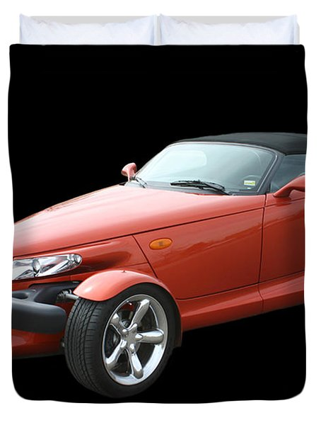 2002 Plymouth Prowler Duvet Cover by Jack Pumphrey