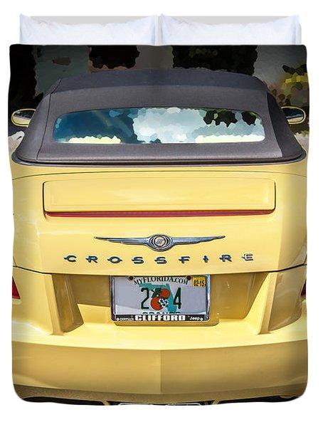 2008 Chrysler Crossfire Convertible  Duvet Cover