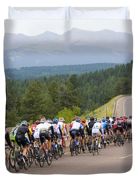 2014 Usa Pro Cycling Challenge Duvet Cover