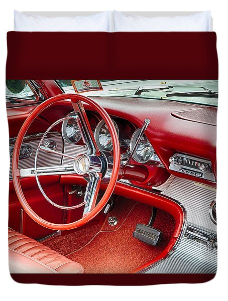 62 Thunderbird Interior Duvet Cover