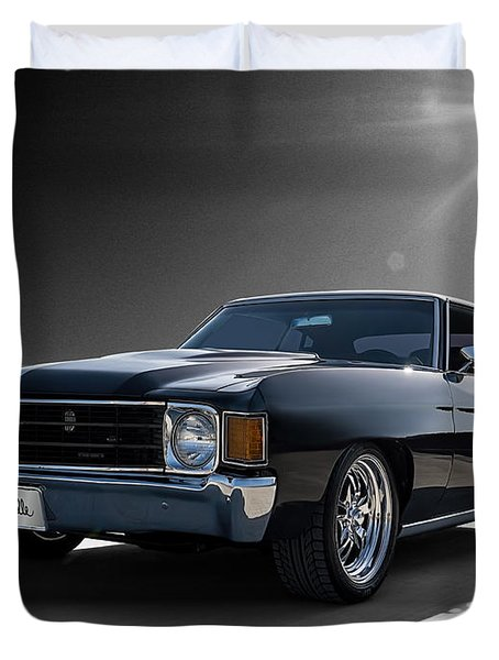 '72 Chevelle Duvet Cover