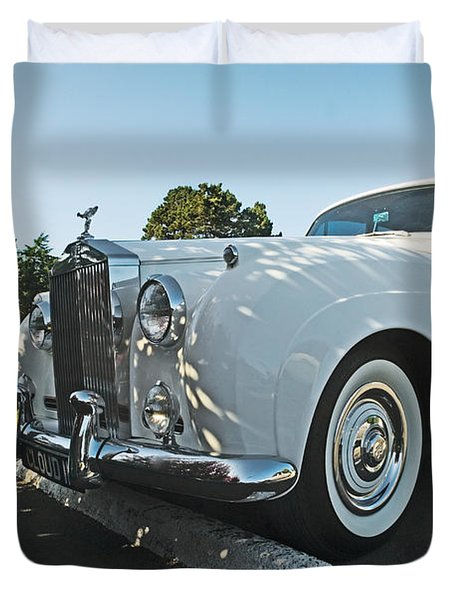 A Classic Rolls Royce Duvet Cover by Ron Sanford