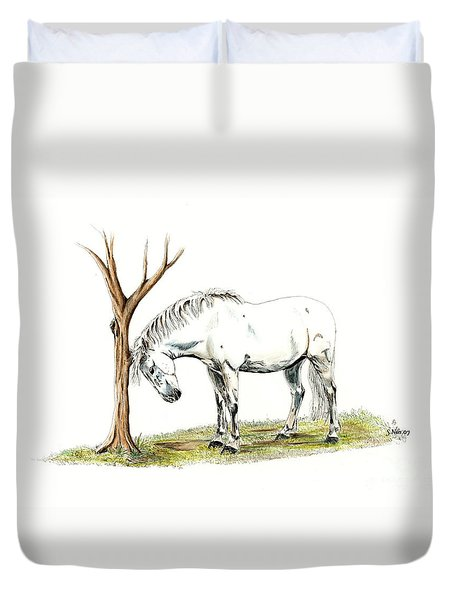 A Good Itch Duvet Cover