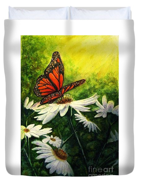 A Life-changing Encounter Duvet Cover