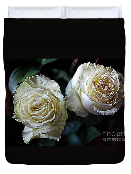 A Perfect Pair Duvet Cover by Diana Mary Sharpton