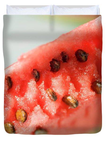 A Piece Of Watermelon Duvet Cover