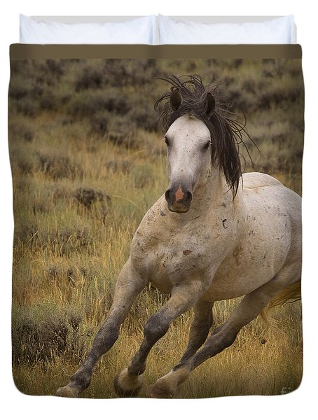 Duvet Cover featuring the photograph A Tight Turn by J L Woody Wooden