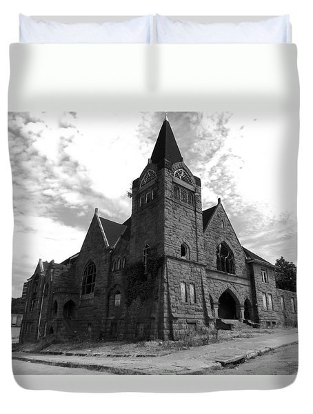 Abandoned Baptist Church  Duvet Cover