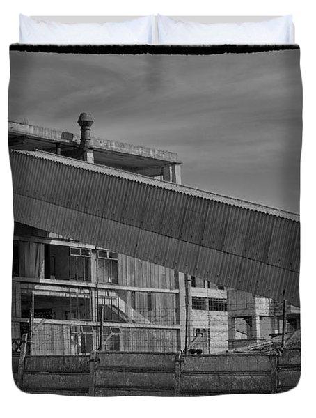 Abandoned Factory At Vadu Duvet Cover by Gabriela Insuratelu
