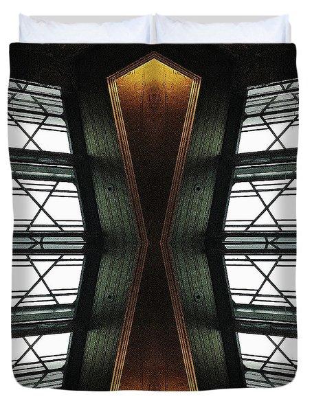 Abstract Empire Deco Duvet Cover