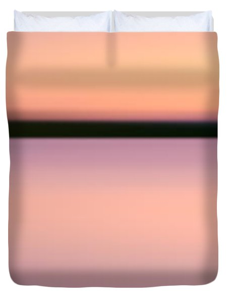 Abstract Sunset 2 Duvet Cover