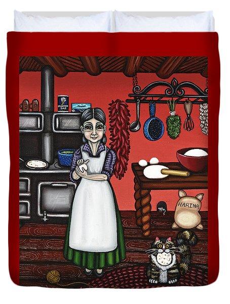 Abuelita Or Grandma Duvet Cover