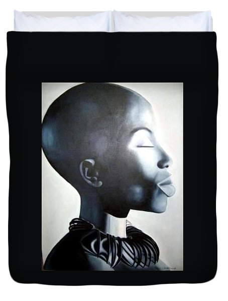 African Elegance - Original Artwork Duvet Cover