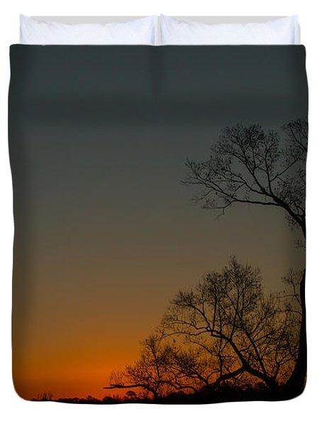 After Sunset Duvet Cover