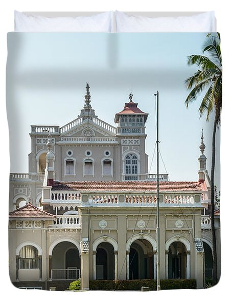 Aga Khan Palace Duvet Cover by Kiran Joshi