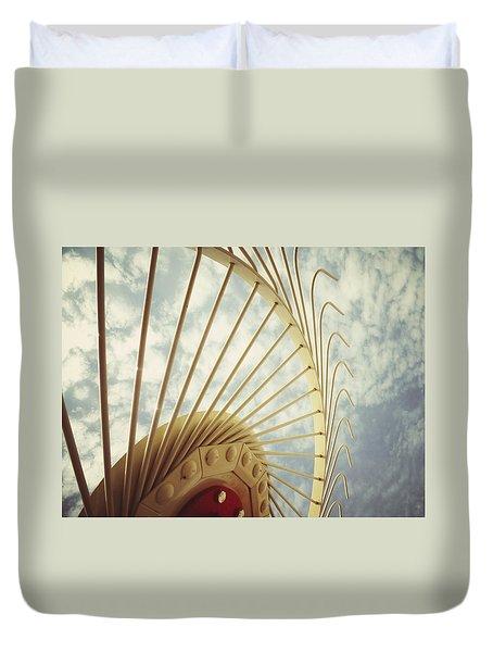 Agricultural Art Duvet Cover