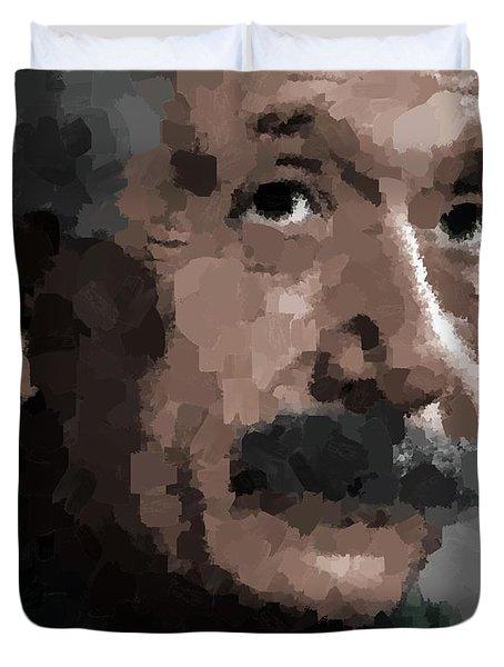Albert Einstein Duvet Cover
