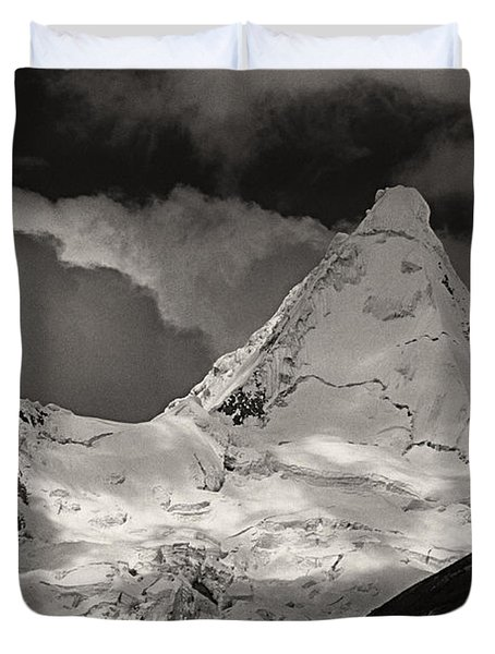 Alpamayo Peru Duvet Cover
