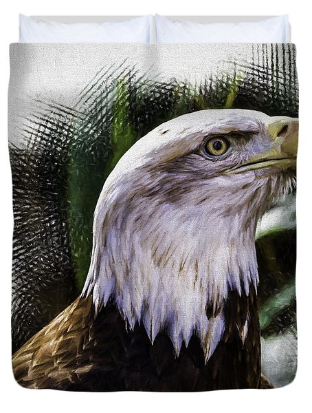 Duvet Cover featuring the photograph American Pride by Ken Frischkorn