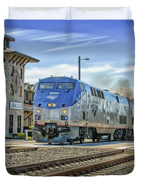 Amtrak 112 Duvet Cover