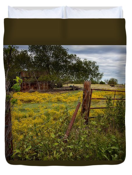 An Old Shed Duvet Cover