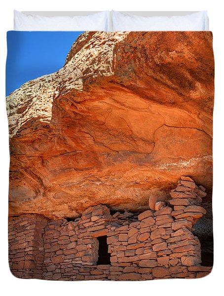 Anasazi Citadel Ruin - Cedar Mesa Duvet Cover